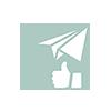 Nasiop réalise vos newsletter et gère l'animation de vos réseaux sociaux.